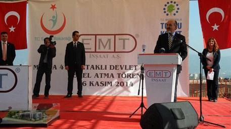 Mehmet Müezzinoğlu, Muğla'daki hastanenin temelini attı
