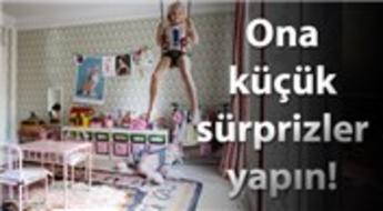 Odalarında çocuklarınızı eğlendirecek dekorasyonlar!