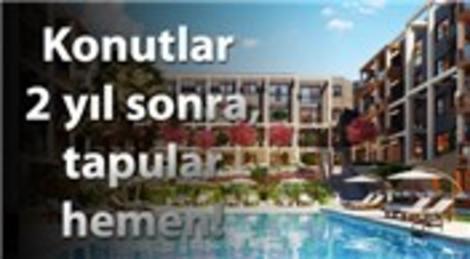 Avlulu evler yaptı, 1 ayda yüzde 35'ini sattı