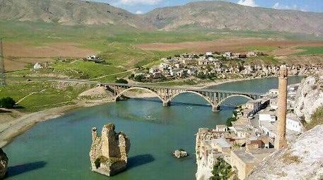 Hasankeyf'teki bu göl manzarası arsa fiyatlarını artırdı!