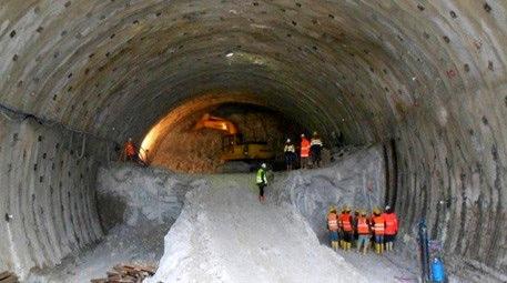 Tünel projeleri 12 yılda 4 kat yol aldı!