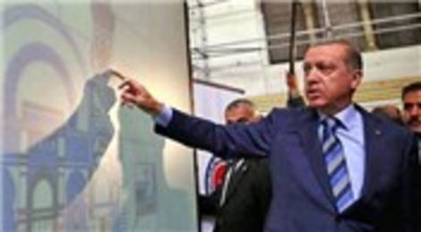 Recep Tayyip Erdoğan Cezayir'deki camiyi ziyaret etti!