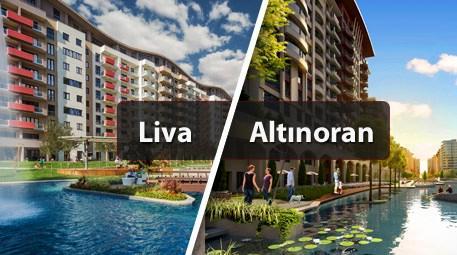 Altınoran ve Liva projelerinde birbirinden cazip fırsatlar!