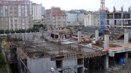Bağcılar'daki spor salonu inşaatı tam gaz devam ediyor!