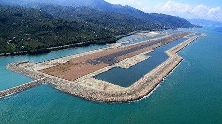 Ordu-Giresun Havalimanı için 32 milyon taş denizle buluştu!