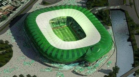 Timsah Arena Stadı, İngiltere'yi heyecanlandırdı!