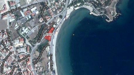 Gelibolu'daki Hamzakoy Plajı'nda satılık arsa!