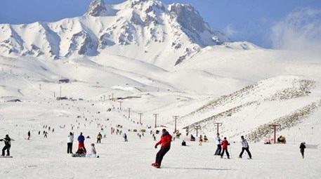 Kar yağdı, kış turizmine bereket geldi!