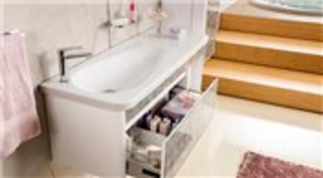 Creavit'ten yeni bir banyo mobilyası: Su damlası