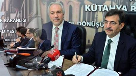 Çevre ve Şehircilik Bakanlığı Kütahya'da dönüşümün yolunu açtı