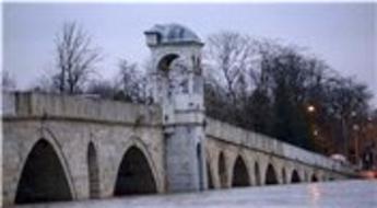 Edirne'de Tunca Nehri'nin ardından Meriç Nehri de taştı!