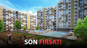 Hemen teslim daireler için fiyatlar 220 bin TL'den başlıyor