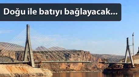 Gergin Eğik Kablo Askılı Köprü
