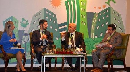 Akıllı Şehirler Zirvesi'nde, sürdürülebilirlik konusu tartışıldı!