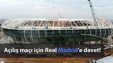 Timsah Arena'nın açılışı için Real Madrid'e maç teklifi yapılacak