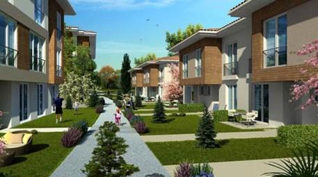Gökyüzü ve yeşille çevrili bir ev hayal edin!