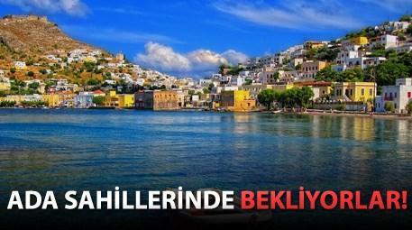 Yunanistan'da lüks daire fiyatına satılık ada!