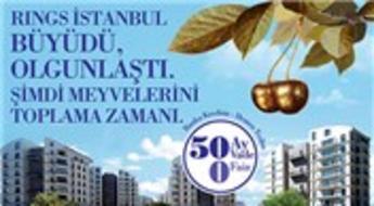 Konutta yılbaşına özel indirim Rings İstanbul'da!