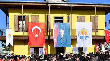 Adana'daki Şakir Paşa Konağı restore edildi!