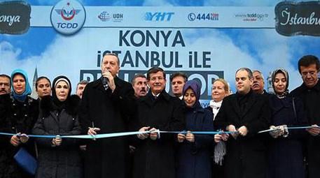Konya-İstanbul YHT hattında seferler bugün başladı!
