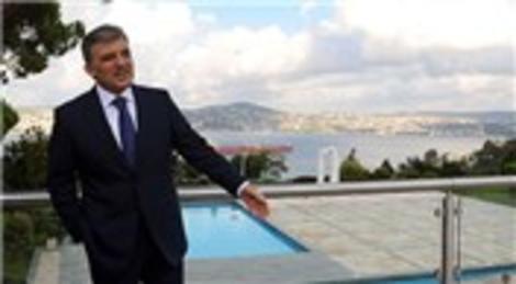 Abdullah Gül ve eşi, Huber Köşkü'ne veda ediyor!