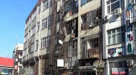 Bayrampaşa'daki 4 katlı binada patlama!