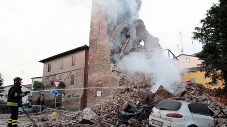 İtalya depremden sonra