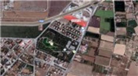 Meram'da 10 dönüm sanayi arsası 2.2 milyon liraya satılıyor