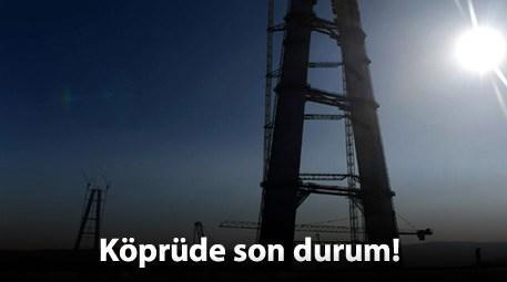 Üçüncü köprünün silüeti yavaş yavaş görünecek!