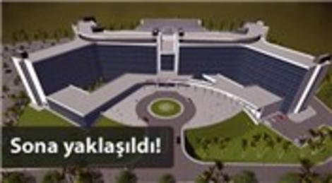 Mehmet Ergün, Hatay'daki hastane inşaatını inceledi!