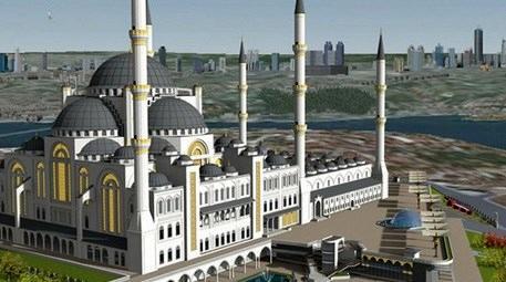 Kadir Topbaş, Çamlıca Camisi'nin son durumu hakkında bilgi aldı!