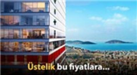 Maltepe'de Adalar manzaralı hemen teslim evler!