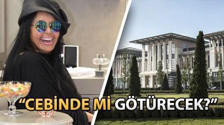 Bülent Ersoy'dan Cumhurbaşkanlığı Sarayı yorumu!