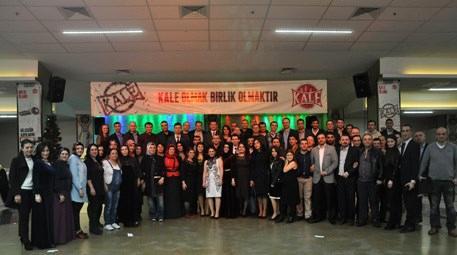 Kale Endüstri Holding ekibi 2015'e iddialı girdi!