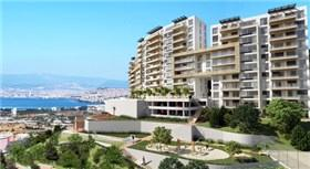 İzmir'in eşsiz manzarasında yaşam başladı!