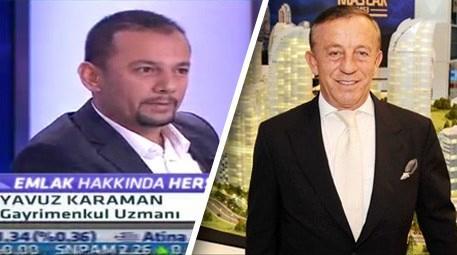 Yavuz Karaman, Ali Ağaoğlu'nu konuk etti