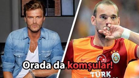Kıvanç Tatlıtuğ Wesley Sneijder