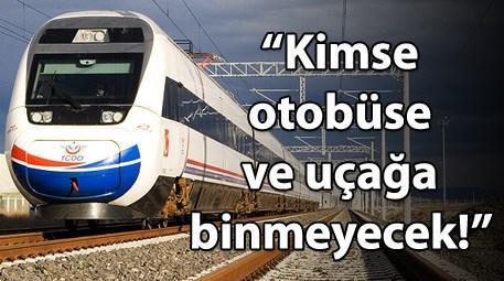 Ankara - İstanbul hızla tren