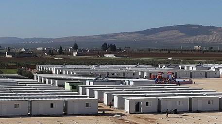 Suriye'nin en büyük konteyner kenti tamamlanıyor!