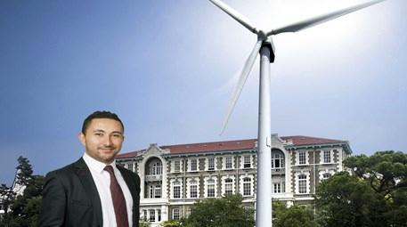 rüzgar enerjili ilk üniversite kampüsü