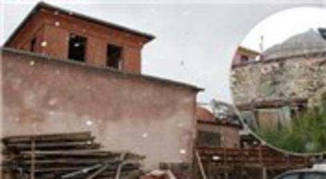 Bursa Tahir Ağa Hamamı'nda restorasyon çalışmaları devam ediyor!