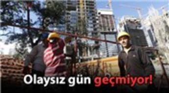 Torun Center şantiyesinde 2 işçi yaralandı!