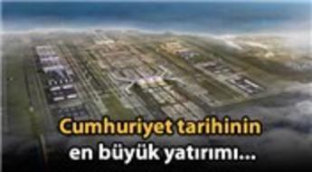 Üçüncü havalimanı için 4.5 milyar euroluk kredi!