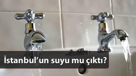 iki musluktan su akarken