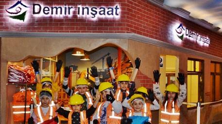 Yeni nesil inşaatçılar Minopolis'te yetişiyor!