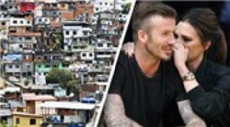David Beckham, gecekondu mahallesinden ev aldı!