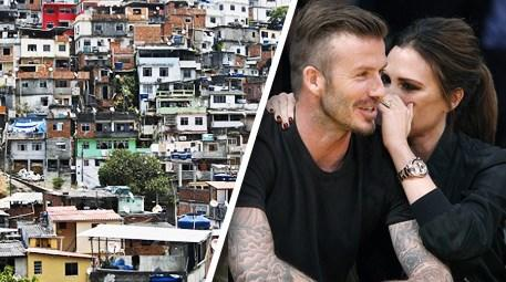 David Beckham gecekondu evi