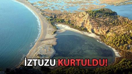 İztuzu plajının ihalesi iptal ediliyor!