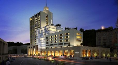 Kiev Hotel, tarihi kent dokusuyla dikkat çekiyor