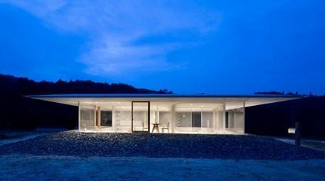 Japon mimarların yaptığı şeffaf ev